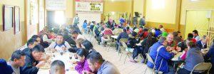 No baja cifra de migrantes en Nazareth