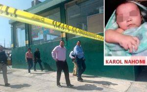 Karol  fue encontrada a 5 cuadras de su casa; junto al trabajo de su papá