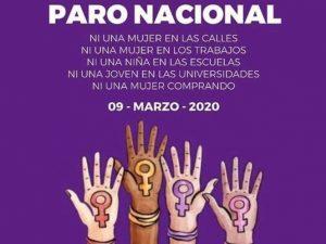 Mujeres convocan a un #UnDíaSinNosotras para el 9 de marzo