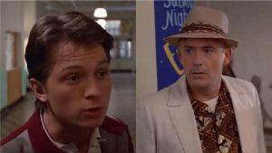 Los nuevos 'protagonistas' de 'Volver al Futuro', son Tom Holland y Robert Downey Jr.