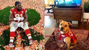 Jugador de Kansas City paga la adopción de todo un refugio de animales tras ganar Super Bowl