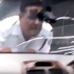 A lo 'rápidos y furiosos', policía intenta capturar a un sospechoso (VIDEO)