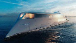 Sinot Yacht Achitecture niega la venta de un futurista yate