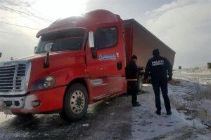 Reabren vía afectada por nieve en Cd. Juárez