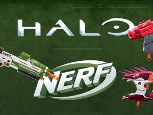 Derrota al Covenant con las nuevas pistolas de Nerf basadas en Halo