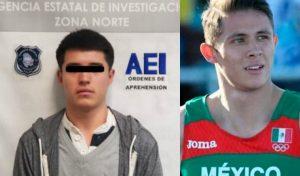Detienen al presunto asesino del atleta olímpico Martín Loera