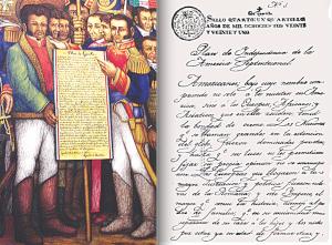 A 199 años de la firma   del Plan de Iguala
