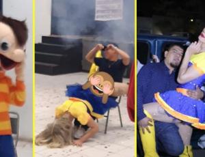 Fotografía de personajes pirata de Bely y Beto se hace viral