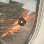 """Air Canadá señala que el avión puede volar con un solo motor y que """"los pilotos están completamente entrenados"""""""
