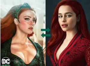 Emilia Clarke sería la nueva princesa Mera en 'Aquaman 2'