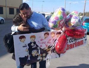 Le da a su hija gran sorpresa de San Valentín (VIDEO)