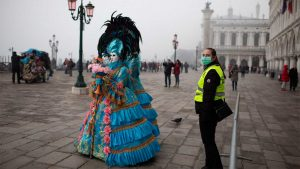 Cancelan Carnaval en Venecia por más de 100 infectados de coronavirus en Italia
