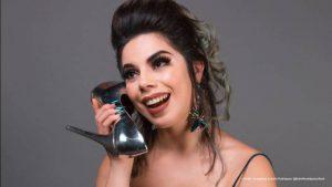 Lizbeth Rodríguez al natural recien levantada y sin maquillaje