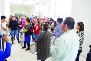 ¡Paran maestros en Nuevo Laredo!