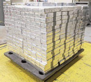Caen 36 millones de dólares en metanfetaminas