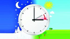 ¡Prepárese! Antes de dormir adelante una hora su reloj