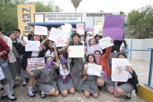 Levantan su voz contra el acoso
