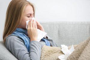 Quédate en casa si sufres un resfriado