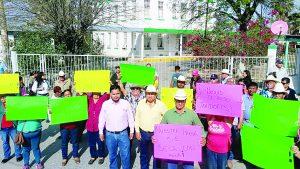 Cierran oficinas de Conagua