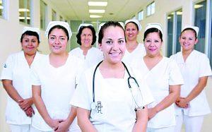 Enfermeras sí  irán a trabajar