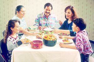 La familia es  refugio de amor