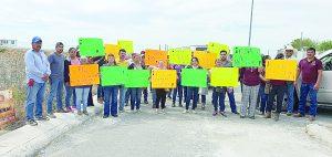 Protestan por trasvase