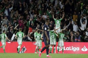 Derrota Real Betis a Real Madrid