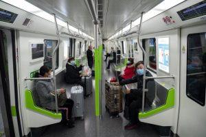 Reanuda servicio de Metro en Wuhan