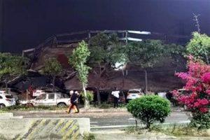 Se derrumba hotel en cuarentena en China, 70 personas bajo escombros
