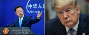 Ejército de EU pudo haber llevado pandemia a Wuhan: Gobierno Chino