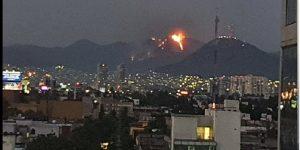 Cerro del Chiquihuite: Impactantes imágenes del incendio en la Ciudad de México