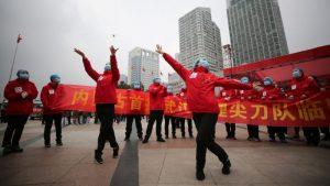 China de fiesta por el fin de cuarentena