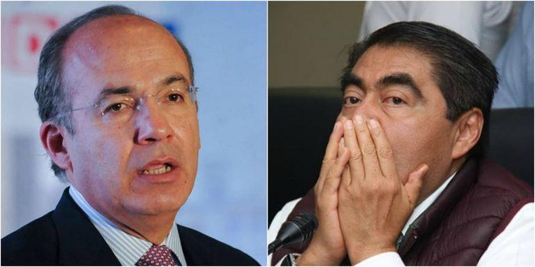 Felipe Calderon y Miguel Barbosa