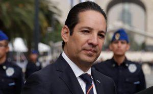 Gobernador de Querétaro, Francisco Domínguez, da positivo a coronavirus