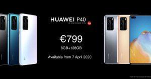 Huawei P40, P40 Pro y P40 Pro+: estas son sus características
