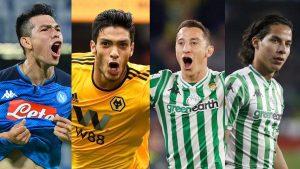 Coronavirus: ¿Cómo la están pasando los futbolistas mexicanos en Europa?