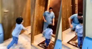 Coronavirus: Médico rompe en llanto tras negarle abrazo a su hijo VIDEO