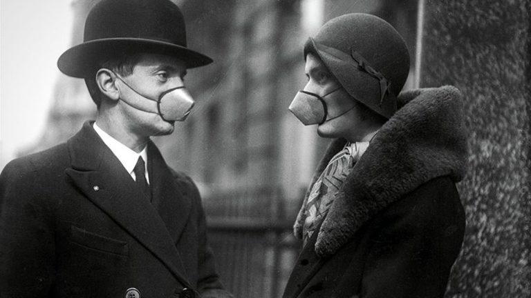 Mascarillas Influenza México 1918
