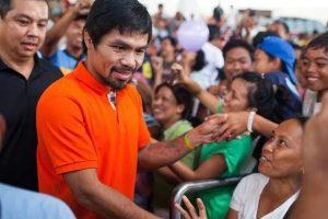 Coronavirus: Pacquiao le pone nocaut al Covid-19 en su país: Dona a Filipinas 50,000 kits de detección