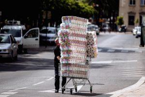 ¿Por qué las compras de pánico de papel de baño?