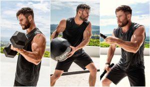 Chris Hemsworth ofrece entrenamiento gratis por coronavirus