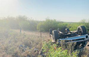 Muere Laredense en choque en carretera 59