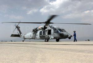 Cae helicóptero de la Marina en Veracruz; hay varios muertos