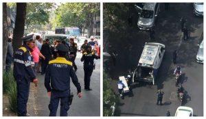 ÚLTIMA HORA: Reportan balacera sobre Reforma en CDMX