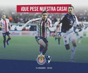 Chivas vs Monterrey: Horario y Dónde ver EN VIVO Liga MX