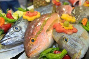 Cae demanda  de mariscos