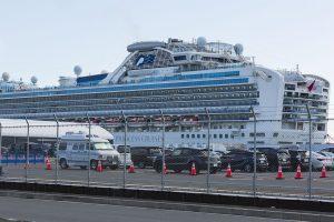 Dan de alta a más de 120 evacuados del crucero Diamond Princess recluidos en San Antonio