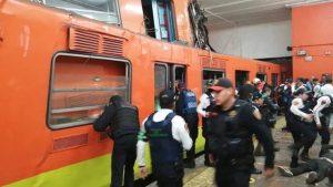 41 heridos y un muerto en choque de trenes en el metro Tacubaya
