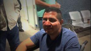 """Cristian Pérez, el reportero golpeado porque no quiso """"bajarle una rayita"""" a sus críticas"""