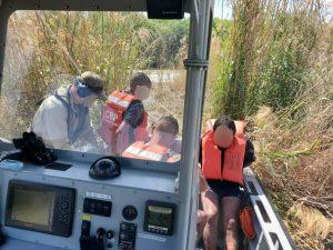 CBP rescata a 6 indocumentados del río